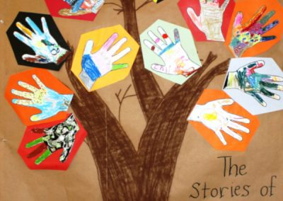 School art work on reconciliation week